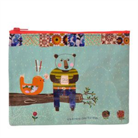 blueq zipper pouch